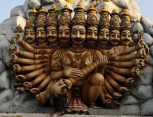Ten headed Ravana Sri Lanka